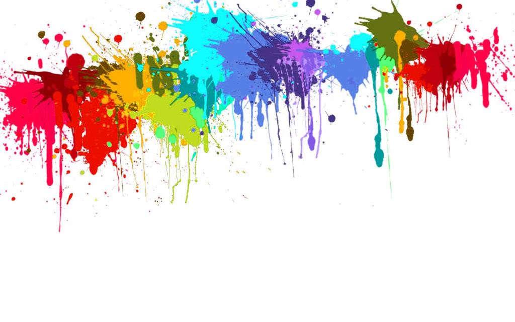 colourful splatter paint facebook timeline cover backgrounds