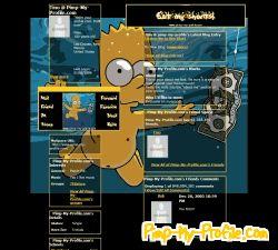 Bart Simpson Nirvana Tumblr Themes Pimp My Profilecom