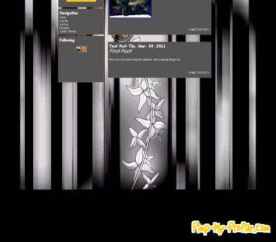 clean and simple tumblr themes pimp my profile com