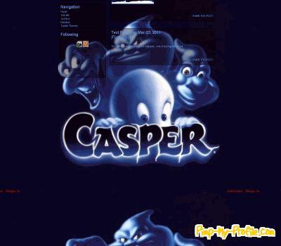 Casper Tumblr Themes - Pimp-My-Profile com