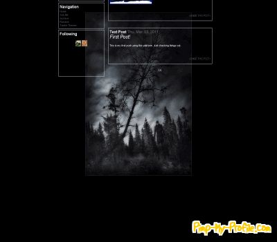 Creepy Tree Tumblr Themes Pimp My Profilecom