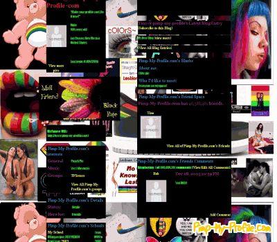 Lesbian friendster layouts