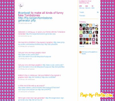 Preppy Twitter Backgrounds - Pimp-My-Profile.com