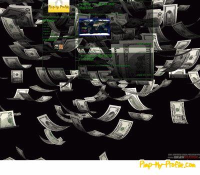 Make it rain money Tumblr Themes - Pimp-My-Profile.com  Money
