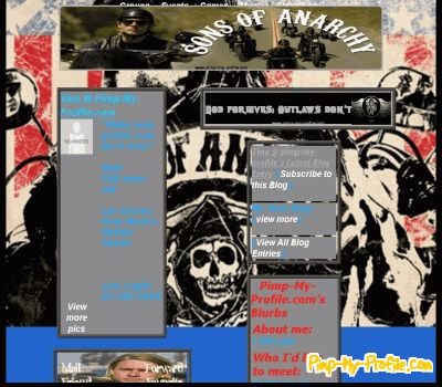 Sons of anarchy myspace layouts pimp my profile voltagebd Image collections