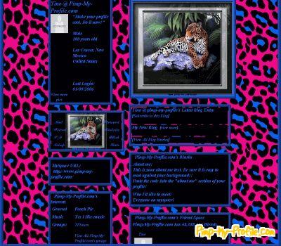 profile fetish My layouts flash
