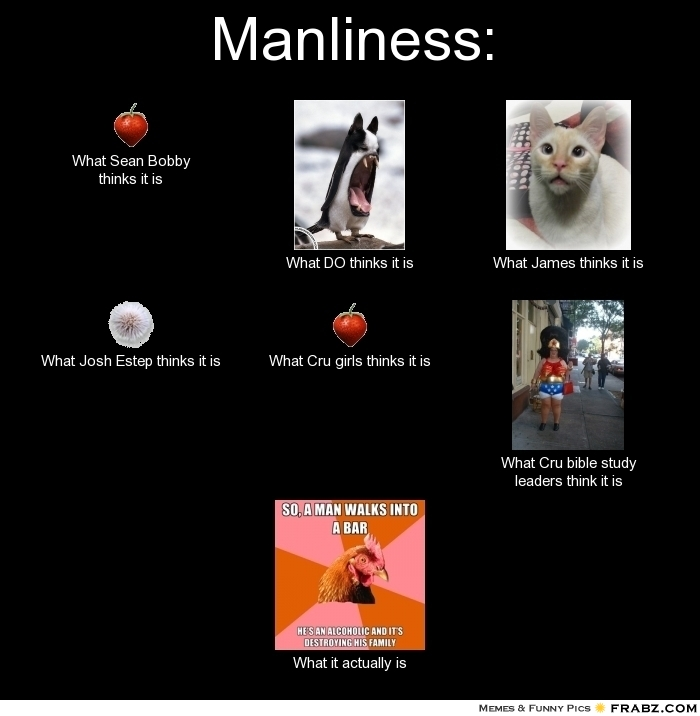 Manliness:    - Meme Generator What i do
