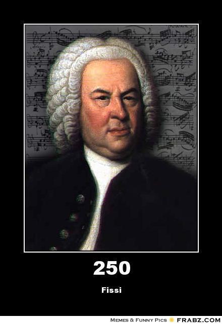 250 Musically Not Impressed Bach Meme Generator