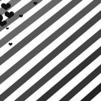 Diagonal Stripes & Hearts
