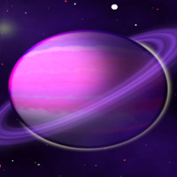 Purple Saturn