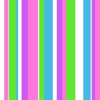 Green, white, blue & Purple Stripes