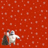 Snow Monster & Christmas Tree