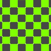 Grey & Lime Green Checkers