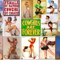 Pin-Up Cowgirls