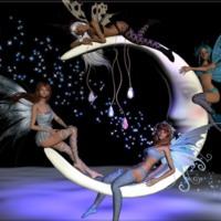 Crescent Moon Fairies