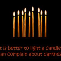 Remember by candlelight