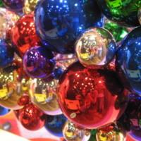 Metallic Christmas Ornaments