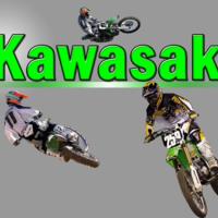 Green Kawasaki Bikes
