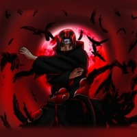 Uchiha Itachi Red Moon
