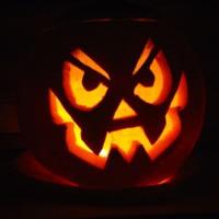 Angry Jack-O-Lantern