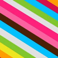 Colorful Diagonal Stripes