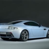 Silver Aston Marton V12 Vantage RS