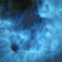 Blue Celestial Clouds