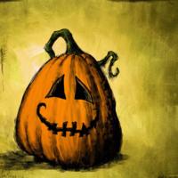 Happy Animated Jack-O-Lantern