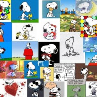 Snoopy Collage