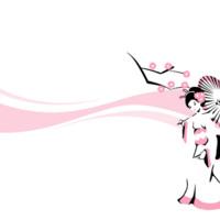 Pink Parasol Geisha