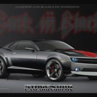 Black & Red Badass Camaro