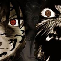 Naruto/Sasuke Black & Grey