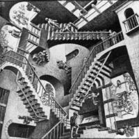 M.C. Escher Staircase