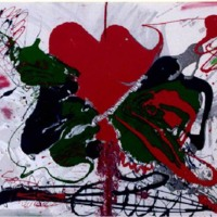 Broken Hearted Abstract Painting