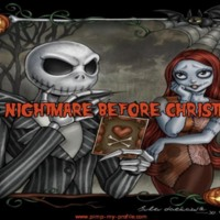 Nightmare Before Christmas Orange