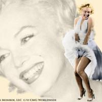 Marilyn Monroe in White