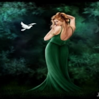 Green Lady & Dove