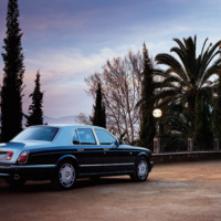 Blue Bentley Arnage