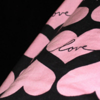 Pink Hearts Love