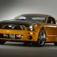 Mustard Yellow Shelby GT500 2007