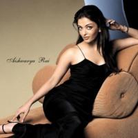 Aishwarya Rai in Black