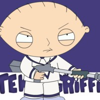 Stewie Griffin w/ Gun