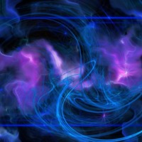Blue & Purple Cloud & Light Abstract