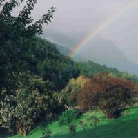 Rainbow in Hills