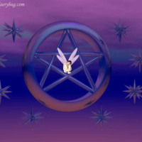 Purple Fairy Pentagram