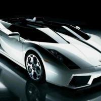 Silver Lamborghini