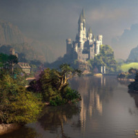 Dream Castle on River