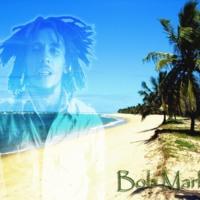 Bob Marley Jamaican Beach