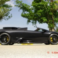 Black Hot Sports Car