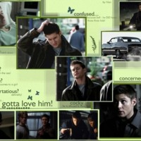 Supernatural: Dean Collage